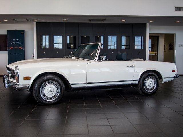 1971 mercedes benz 280sl houston tx aldine spring the for Mercedes benz tyler texas