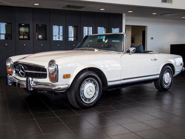 1971 mercedes benz 280sl houston tx aldine spring the for Mercedes benz dealership houston texas