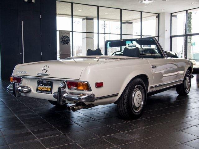 1971 mercedes benz 280sl houston tx aldine spring the for Mercedes benz houston tx
