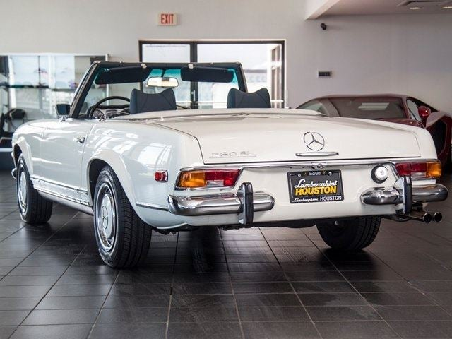 1971 mercedes benz 280sl houston tx aldine spring the for Mercedes benz houston
