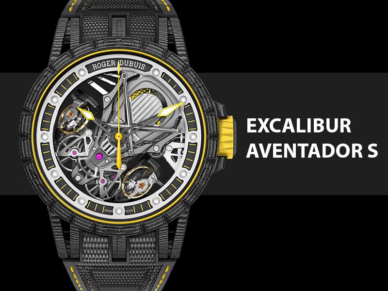New Lamborghini Watch By Roger Dubuis Excalibur Aventador S