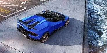 2019 Lamborghini Huracan Performante Spyder Lp 640 4