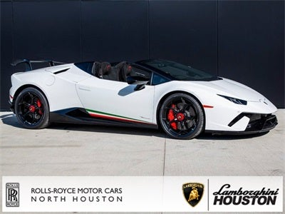 2019 Lamborghini Huracan Performante Spyder Lamborghini Houston